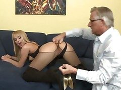 Christoph Clark makes his corpulent dick nought