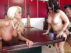 Casey Cumz and Nikita Von James are sinfully glum wives